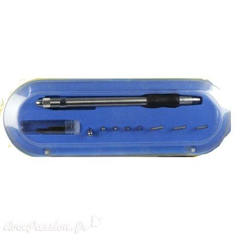 Siesta 5 outils à embosser 3 outils à perforer 1 scalpel