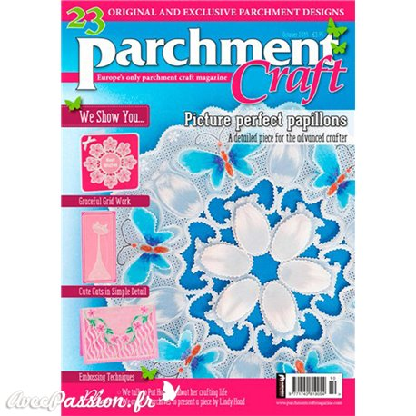 Parchment Craft magazine Pergamano octobre 2015 Picture Perfect Papillons