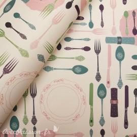 Papier tassotti motifs couverts