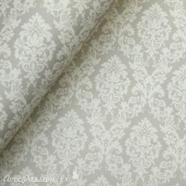 Papier tassotti motifs arabesques gris