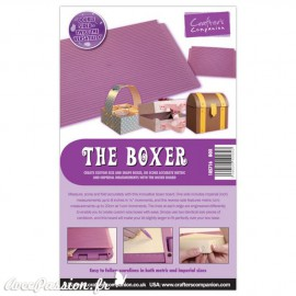 The Boxer Gabarit pliage et coupe du papier