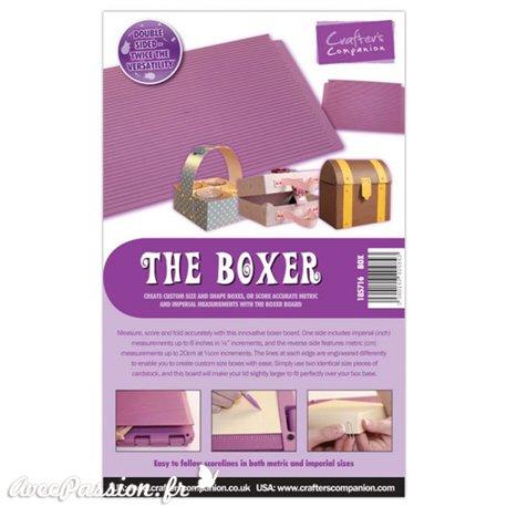 The Boxer Gabarit pliage et coupe du papier