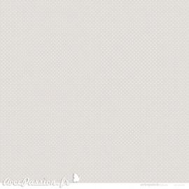 Papier Artepatch beige points blanc