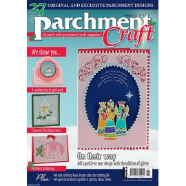 Parchment Craft magazine Pergamano novembre 2015 On their way