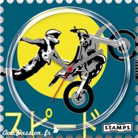 Cadran waterproof de montre Stamps fly high