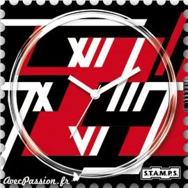 Cadran waterproof de montre Stamps racing