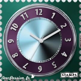 Cadran waterproof de montre Stamps for speed