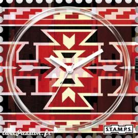Montre Stamps cadran de montre sausalitos