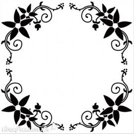 Classeur gaufrage ronde des fleurs Nellie Snellen