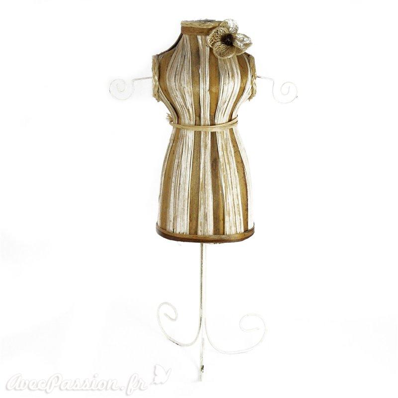 Objet d coration porte bijou perle bois achat vente for Decoration porte bijoux