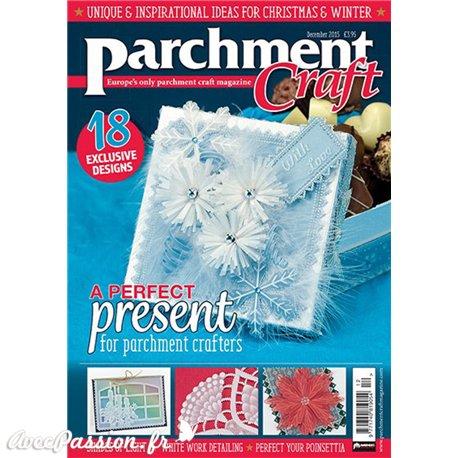Parchment Craft magazine Pergamano décembre 2015 A Perfect Present