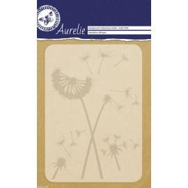 Classeur gaufrage fleurs de pissenlits 1p