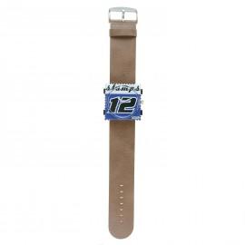Montre Stamps bracelet de montre taupe Jack Rough washed taupe