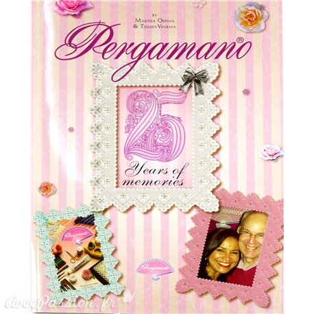 Livre Pergamano Martha Ospina 25 years memories