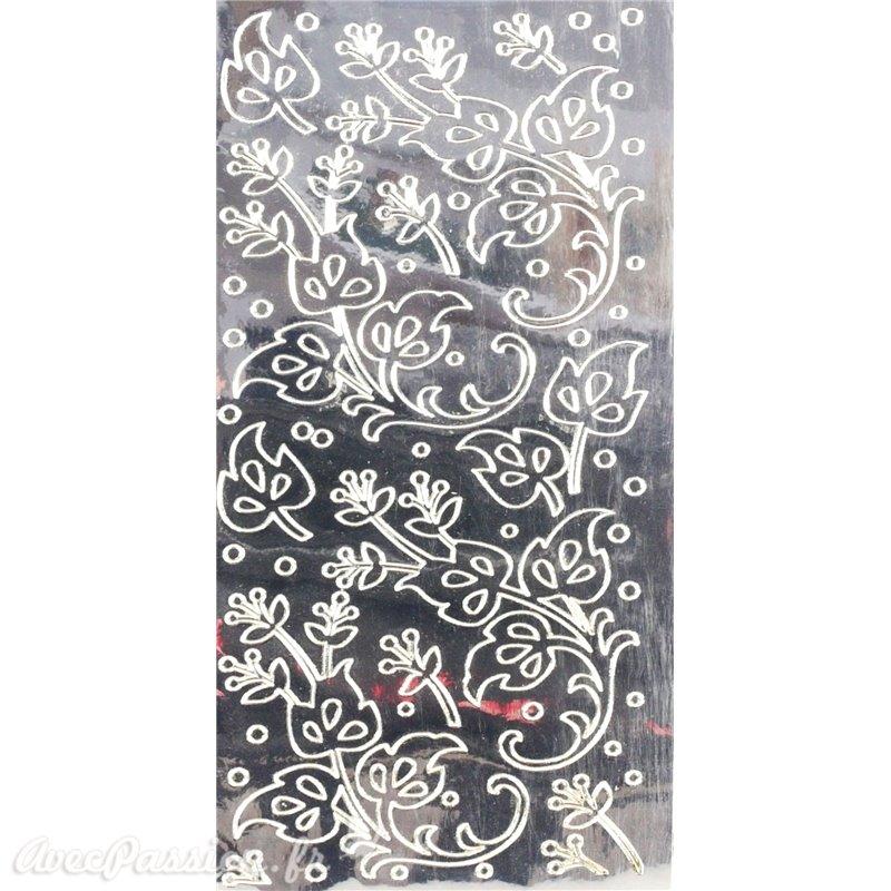 Sticker peel off autocollant scrapbooking miroir achat vente for Sticker miroir adhesif