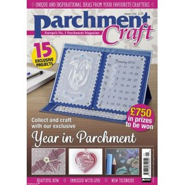 Parchment Craft magazine Pergamano janvier 2016