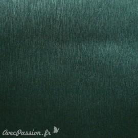 Papier simili cuir toilé métallique vert
