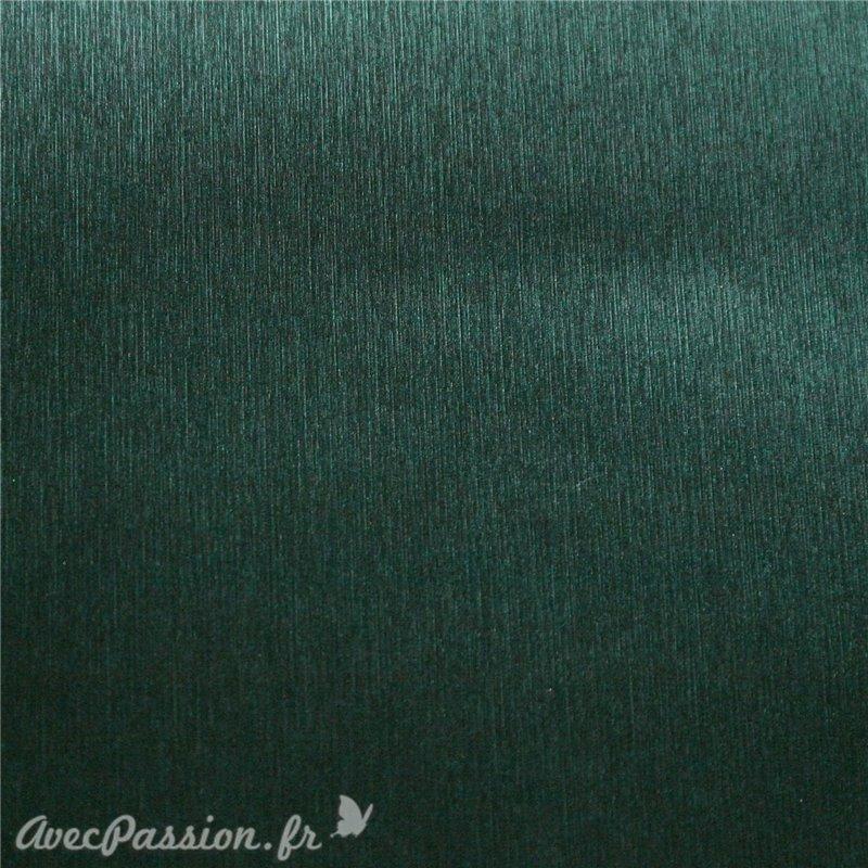cartonnage papier simili cuir toil m tallique vert grand. Black Bedroom Furniture Sets. Home Design Ideas