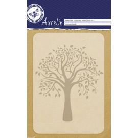 Classeur gaufrage arbre sycomore 1p