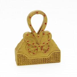 Objet de décoration sac miniature Queen