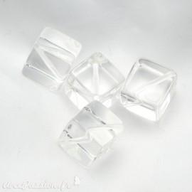 perle fantaisie glacon 1.5 cm
