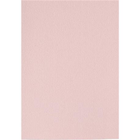 Papier pour carte et faire part rose clair x6 200g