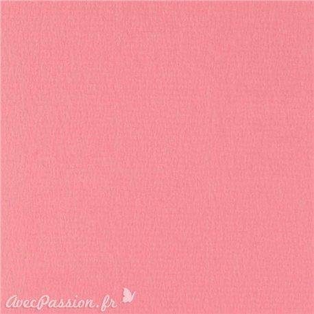 Papier pour carte et faire part rose vif x6 200g