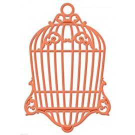 Dies découpe gaufrage cage oiseau Spellbinders