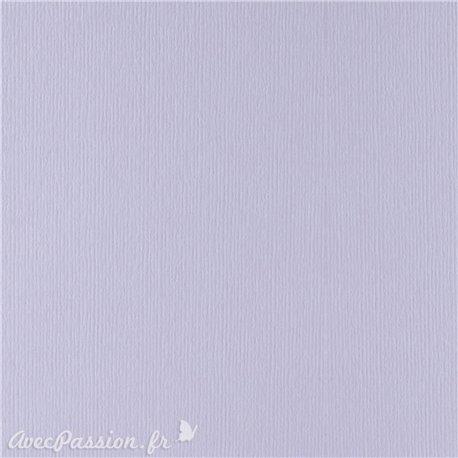 Papier pour carte et faire part lilas x6 200g