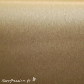 Papier simili cuir toilé métallique doré 53x70cm