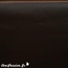 Papier simili cuir toilé métallique marron 70x106cm