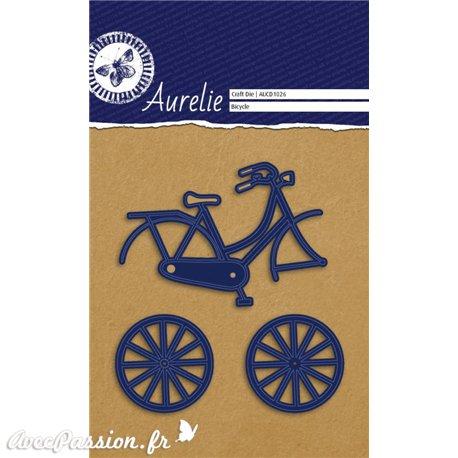 Dies découpe gaufrage matrice Aurélie vélo