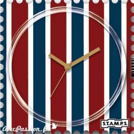 Cadran waterproof de montre Stamps vertical limit