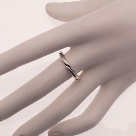 Bague Ubu taille 52 à composer anneau ciselé argent -