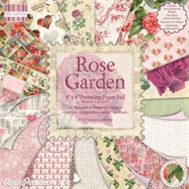 Papier scrapbooking assortiment rose garden 48fe