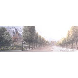 Carte postale Paris Les Champs Elysées