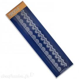 Règle tracage bordures Groovi pour Pergamano arabesque 1
