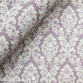 Papier tassotti motifs arabesques lilas