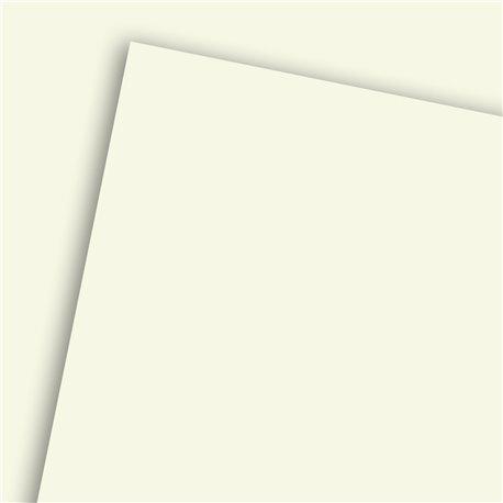 Papier uni blanc nacré