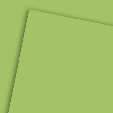 Papier uni vert anis