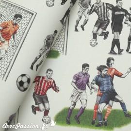 Papier tassotti motifs football