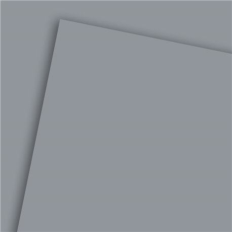Papier à dessin uni 130g gris foncé