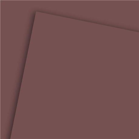 Papier uni marron chocolat