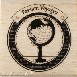 Tampon bois voyages passion voyages