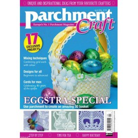 Parchment Craft magazine Pergamano avril 2016 Eggstra Special