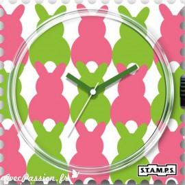 Cadran de montre Stamps easter bunny
