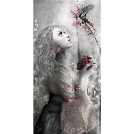 Carte d'art Valie Le Boeuf Lou 14x28 cm