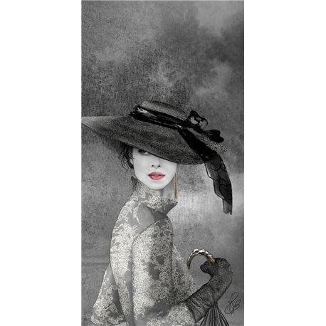 Carte d'art Valie Le Boeuf Louise 14x28 cm