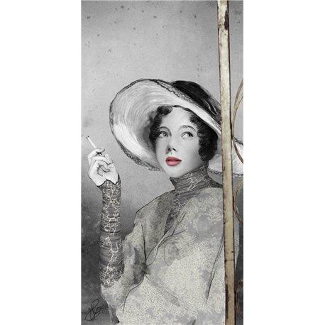 Carte d'art Valie Le Boeuf Mathilde