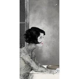 Carte d'art Valie Le Boeuf Emma
